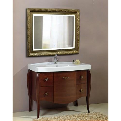 Зеркало в ванную с подсветкой Сара